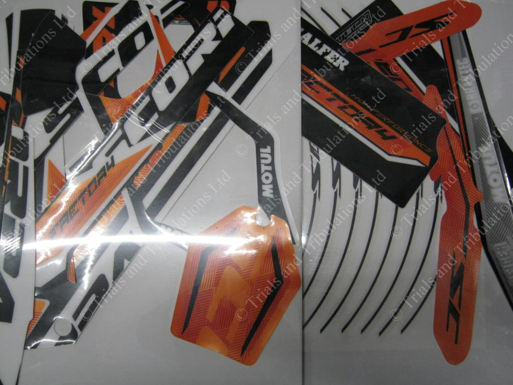 2018 Scorpa Twenty Factory full decal kit