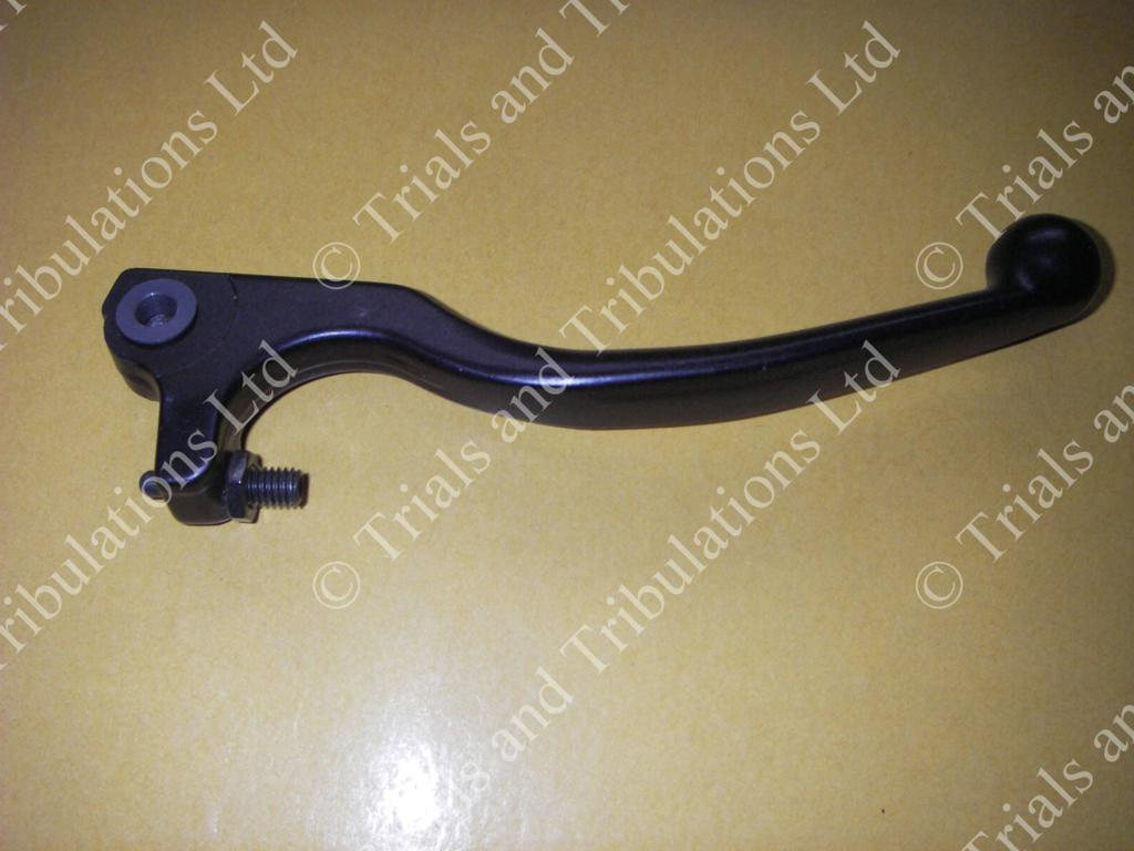 AJP front brake lever (long) Black (see fitting guide)