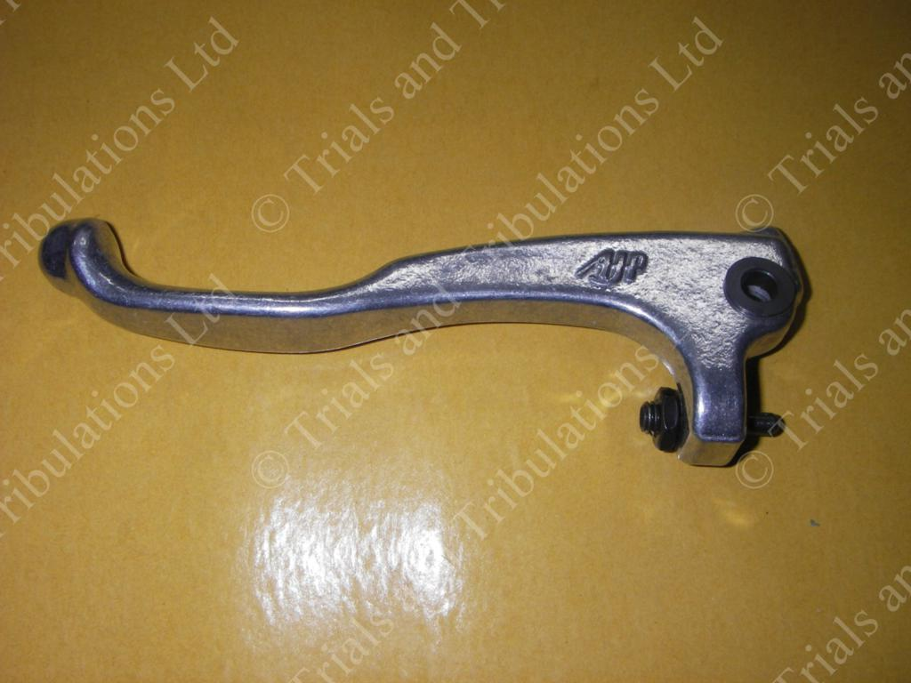 AJP Trials 'shorty' clutch lever silver