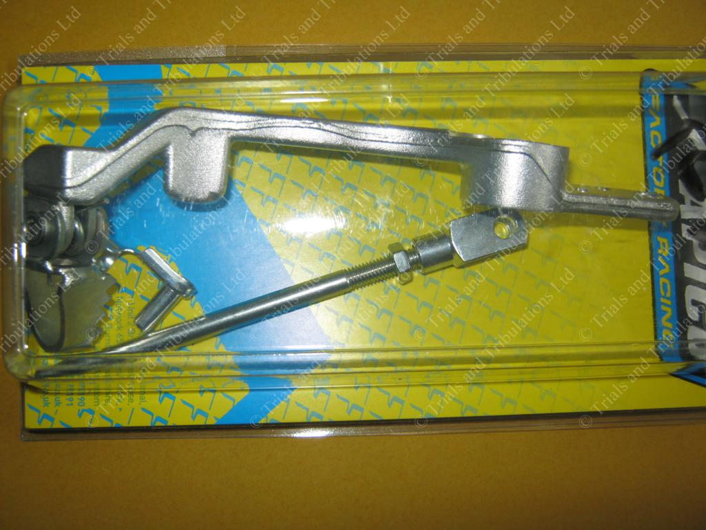 Apico Beta Rev3 (05-08) rear brake pedal (SILVER)