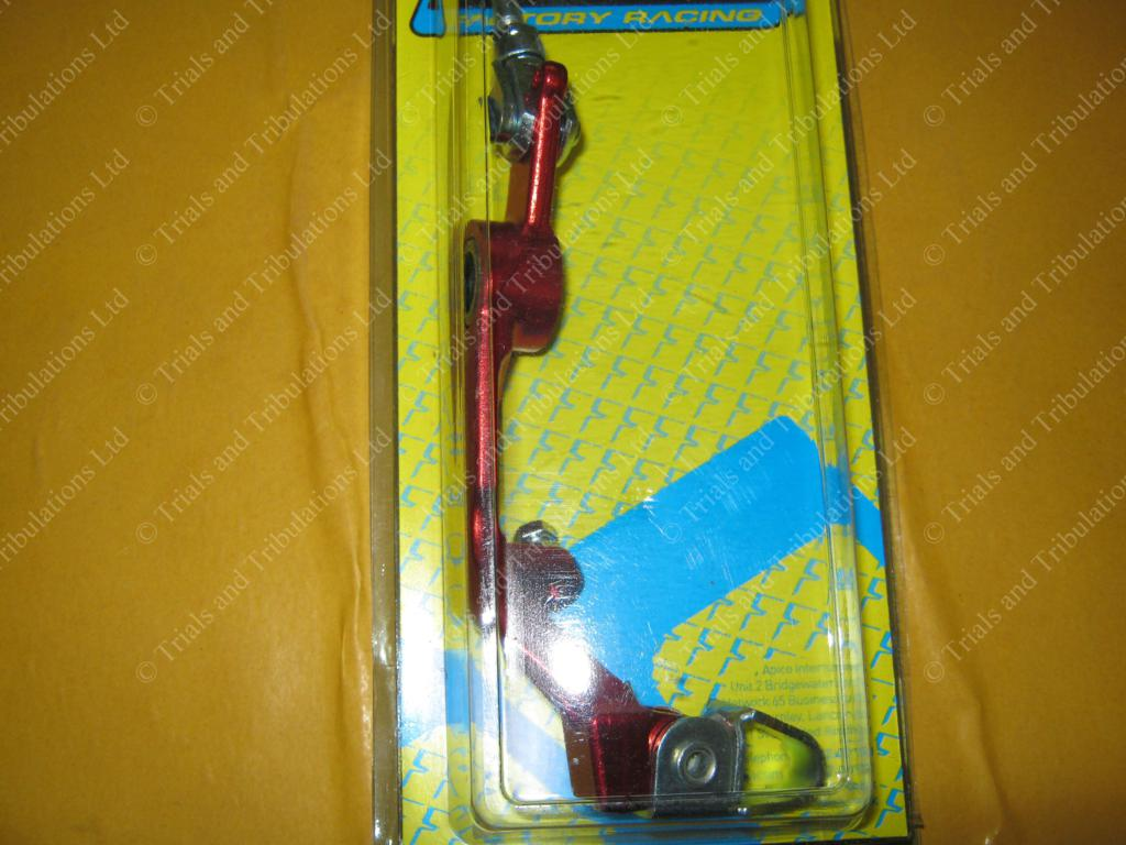 Apico Beta Evo rear brake pedal assy. (Red)