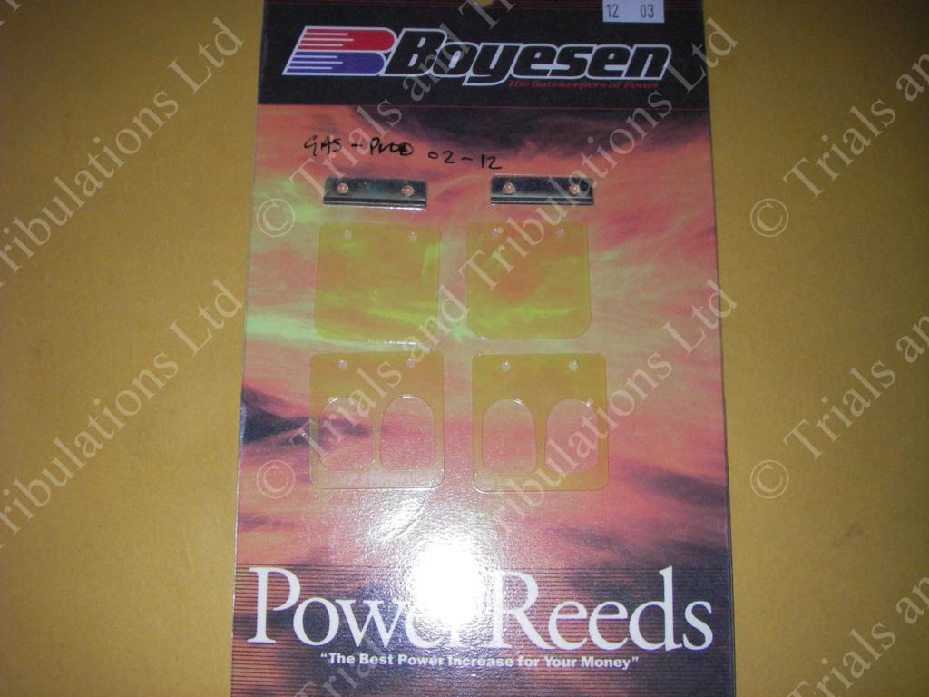 Boyesen Gas Gas 02-on pro power reeds