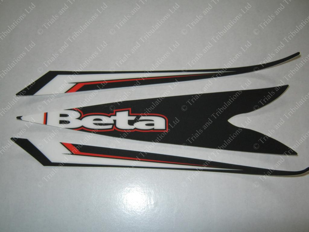 Beta Evo 2013 front mudguard decal