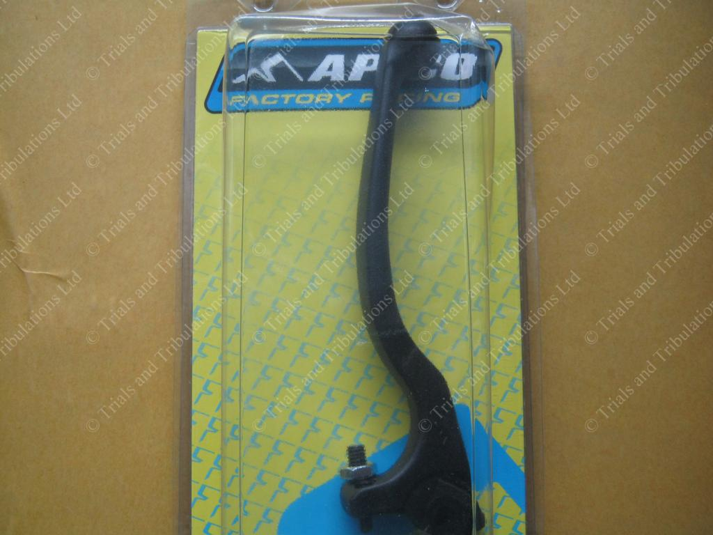 Apico Trials forged Clutch lever BLACK (long)