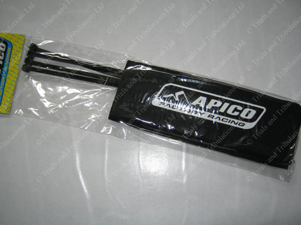 Apico Neoprene fork protector sleeves (Black)
