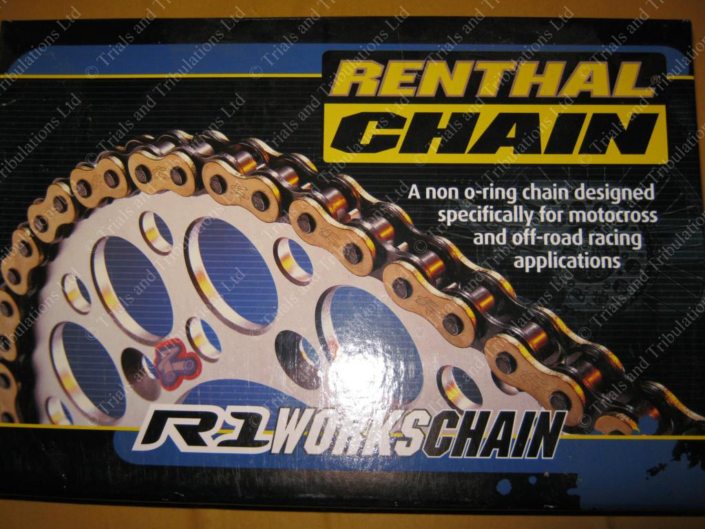 Renthal R1 gold chain 428 pitch (134 link)