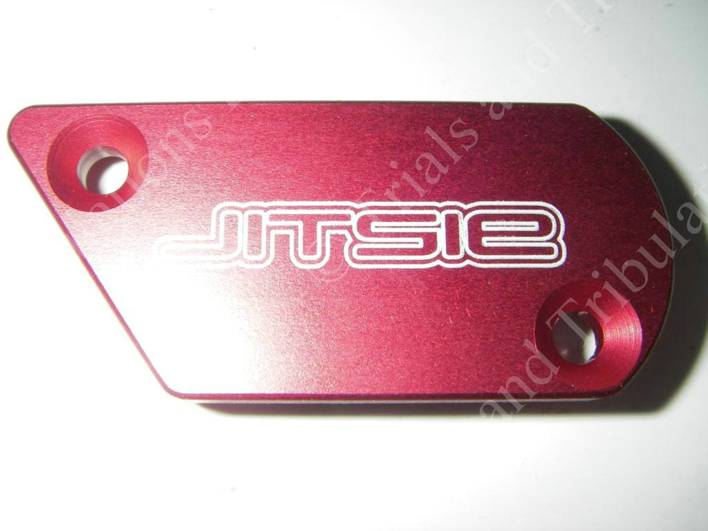 Jitise Beta Rev3 Front brake master cylinder cover Red