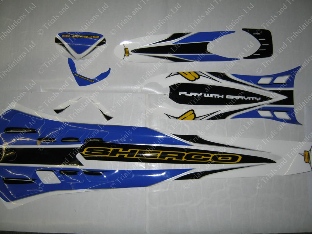 Sherco decal kit 2006-2009