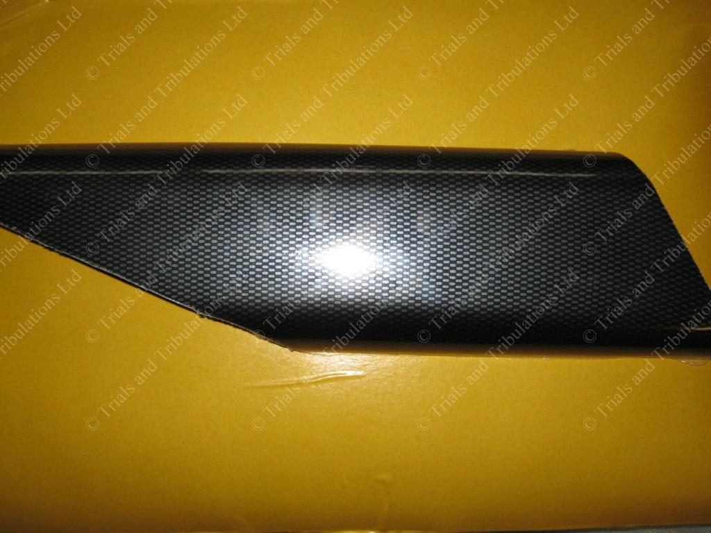 Scorpa SR silencer Guard Carbon Look