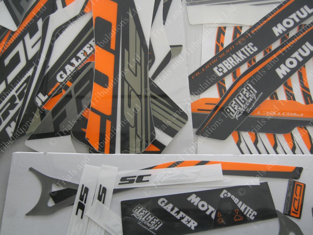 Scorpa 2017 Factory decal kit