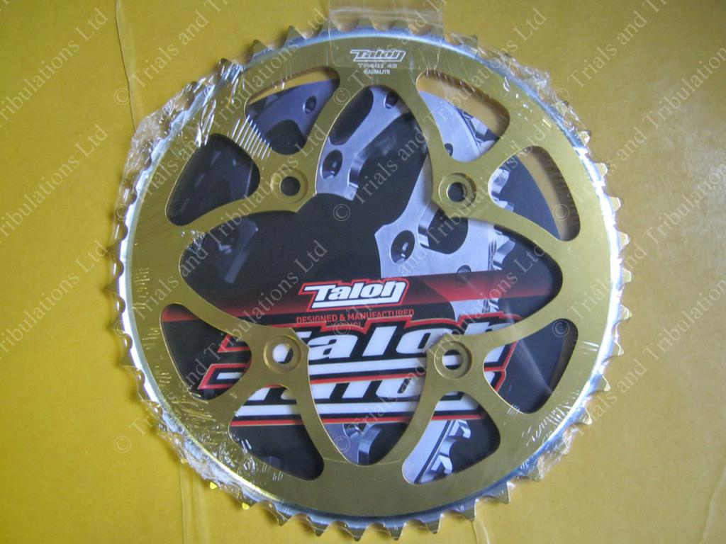 Talon rear sprocket 43t Gold (Beta Evo)