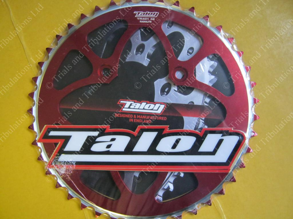 Talon rear sprocket 43t Red (Beta Evo)