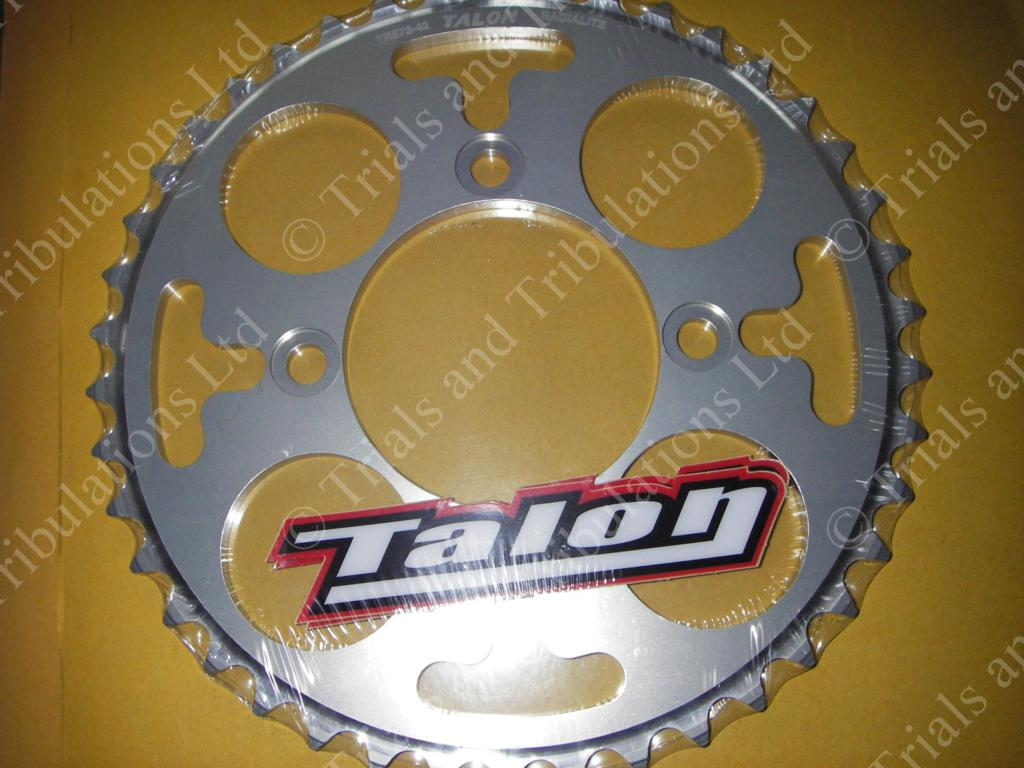 Ossa 2011-2015 rear sprocket 42T (Silver)