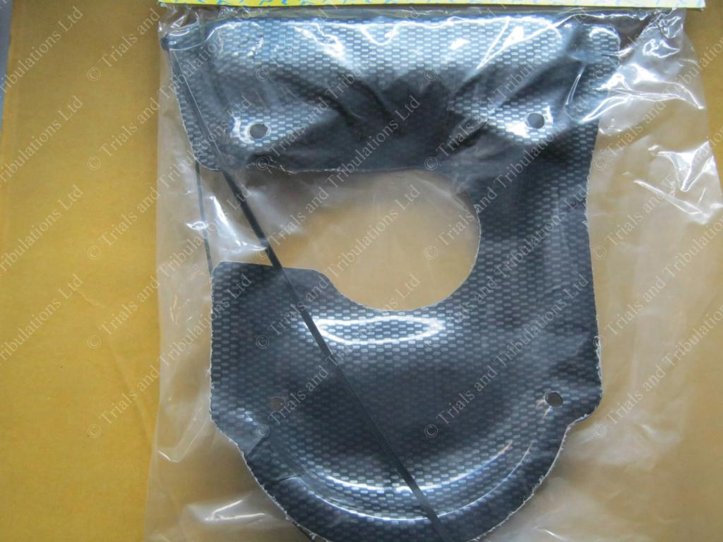 Apico Beta Evo 125-300 Engine splash Guard (carbon look)