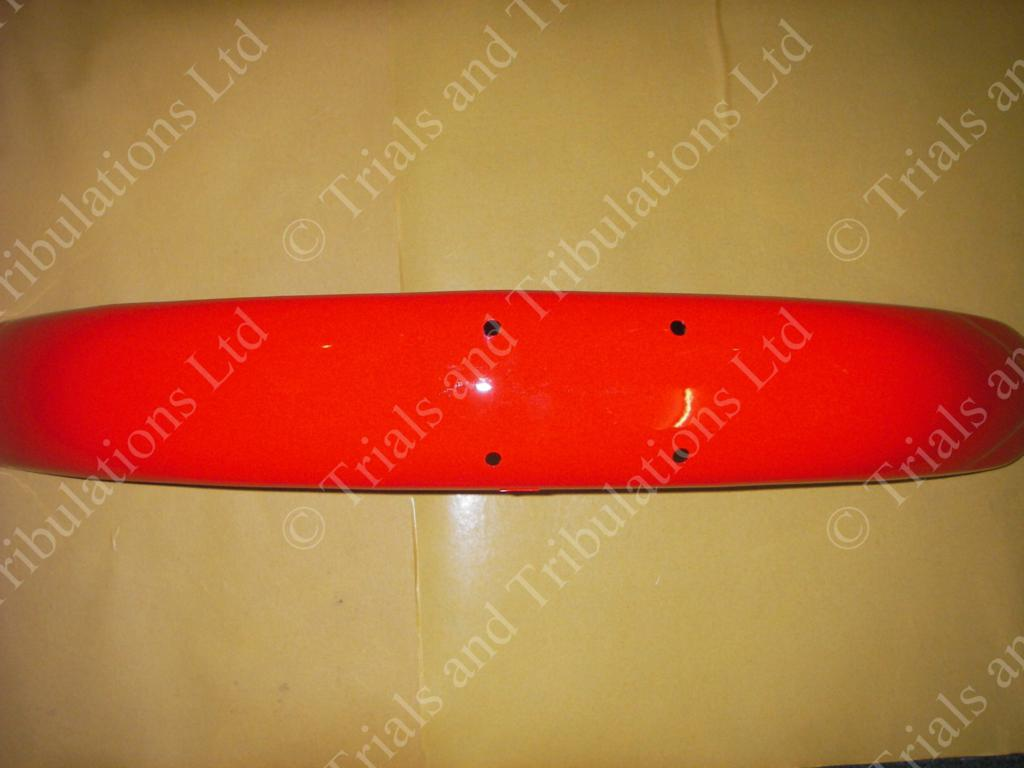 Beta Rev 50/80 & Evo 80 (small - wheel) Red front mudguard
