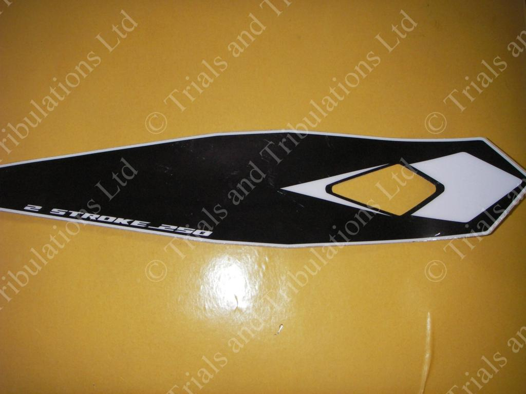 Beta Evo 2009 Rear Mudguard Decal ( 250 )