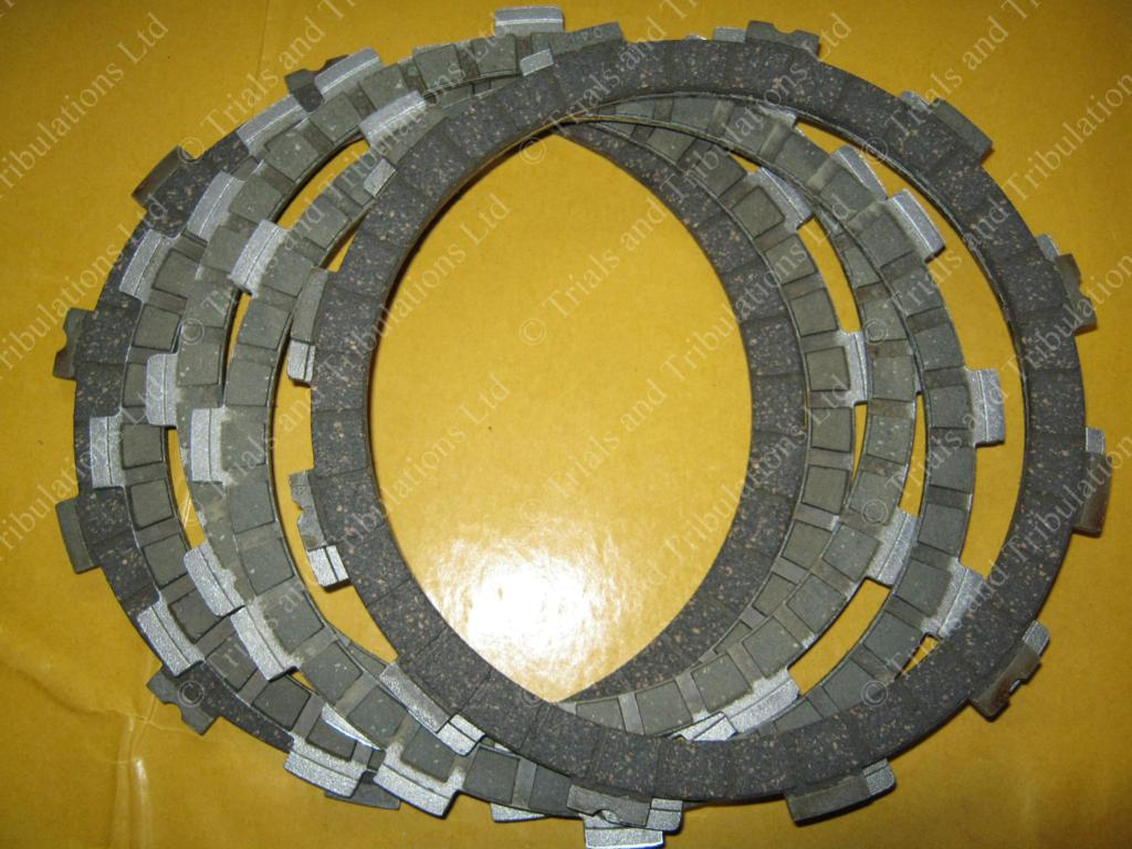 Beta Evo Factory fibre clutch plate set