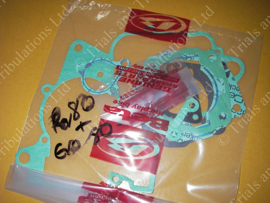 Beta Rev 80 & Evo 80 engine gasket set