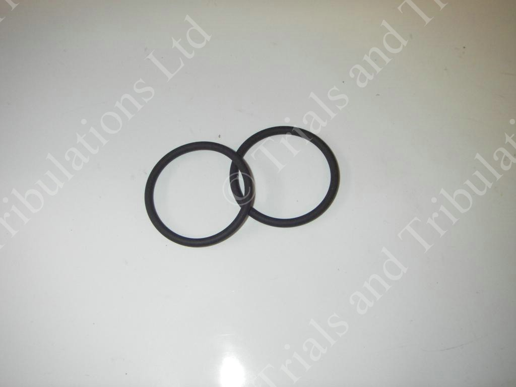 Beta Techno & Rev 3 mid box to silencer '0' ring seals (pair)