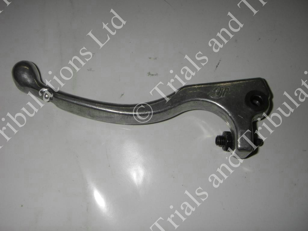 AJP clutch lever silver (mid length)