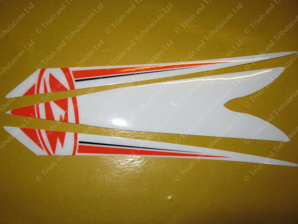 Beta Evo 2014 Front mudguard decals