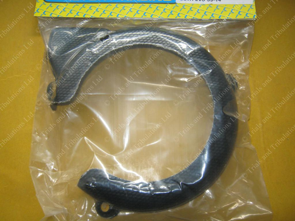 Apico Beta Evo 2009-2014 ignition case saver (Carbon Look)