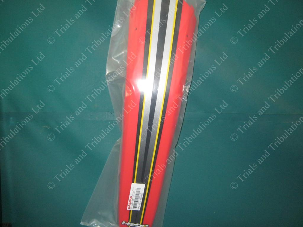 Gas Gas 2000 red rear mudguard