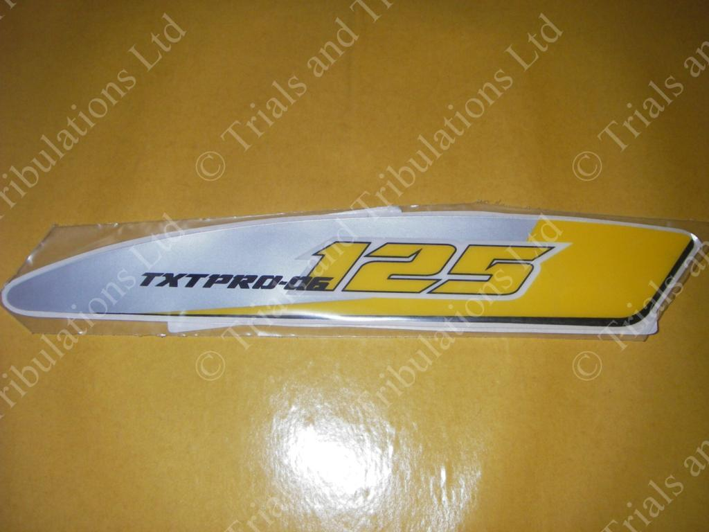 Gas-Gas 125 Pro 2006 Swingarm decals (pair)