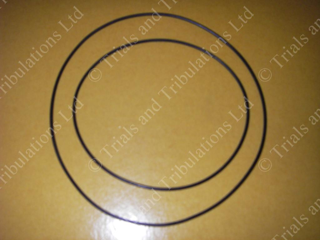 Gas-Gas 320, 321, 327, 350 & 370 head gasket O rings (pair)