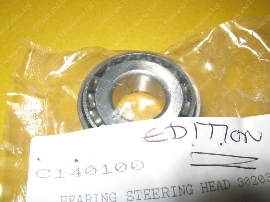 Gas Gas Trials to 03 Edition steering head bearings(priced each)