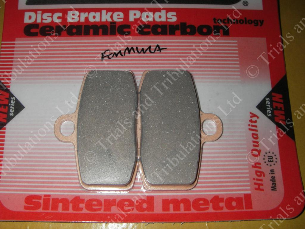 Gas Gas Pro & Sherco front pads (for Formula brakes only)