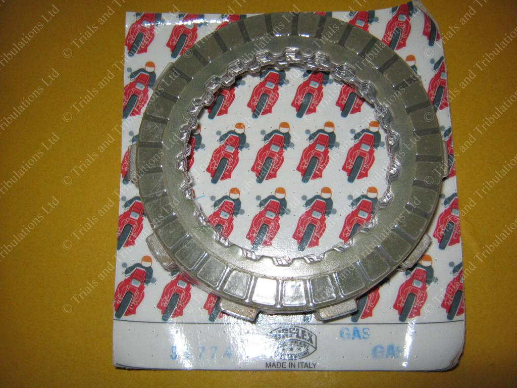 Gas-Gas Trials 89-97 (Surflex) clutch plate kit (NOT PRO)