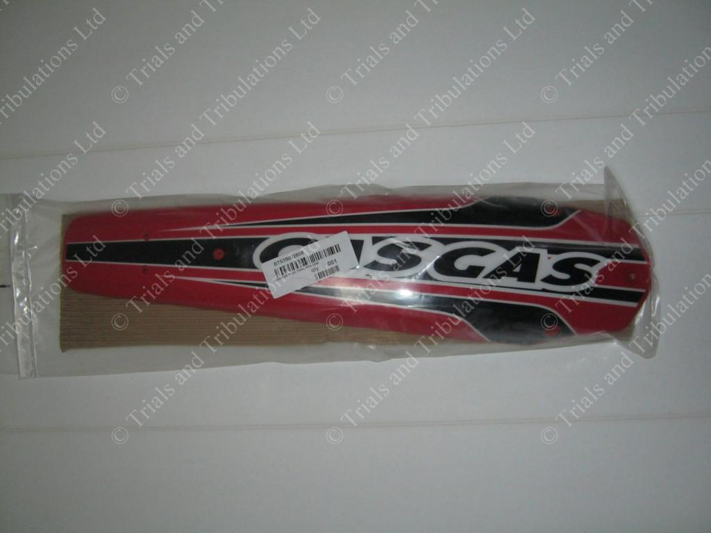 Gas Gas Pro 2008 Rear mudguard (fits all '02-'10) inc Decal