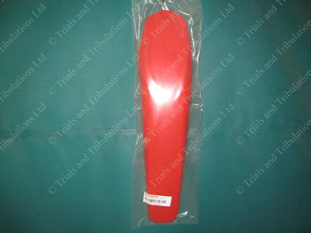 Gas Gas Pro (02-10) plain red rear mudguard