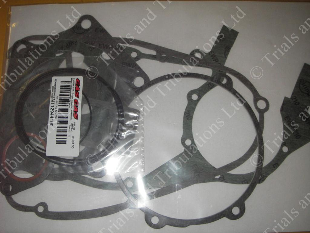 Gas Gas 125,200 gasket kit. Up to 03 edition(NOT PRO)