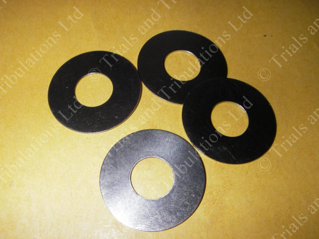 Gas Gas 99-on suspension link bolt washers (set of 4)