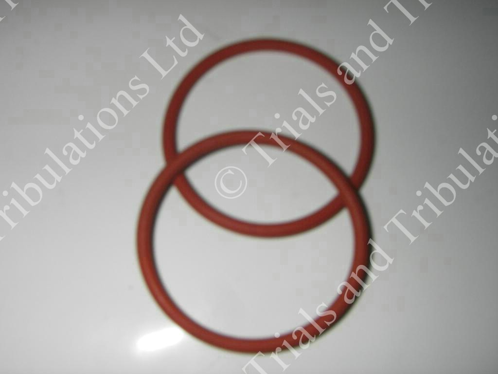 Gas Gas trials front pipe to mid box 0 ring seals(pair)