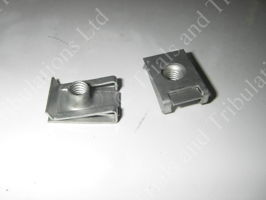 Gas-Gas Pro Airbox captive nut/panel clip (priced each)