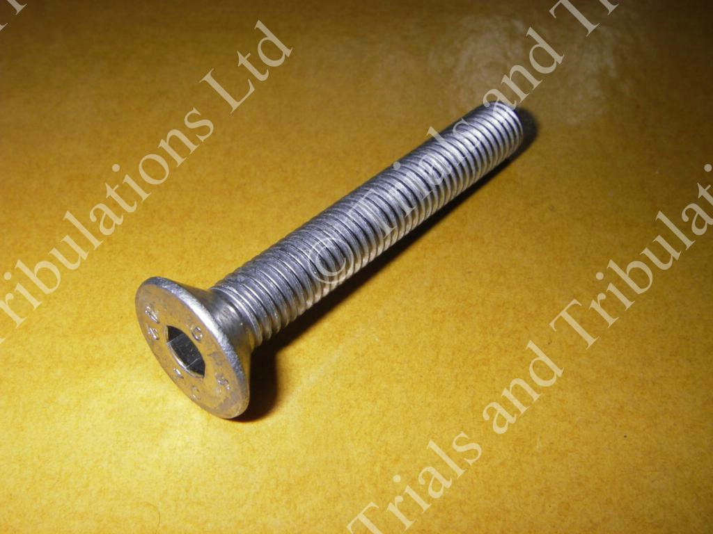 Gas-Gas 07-on rear brake pedal fixing screw