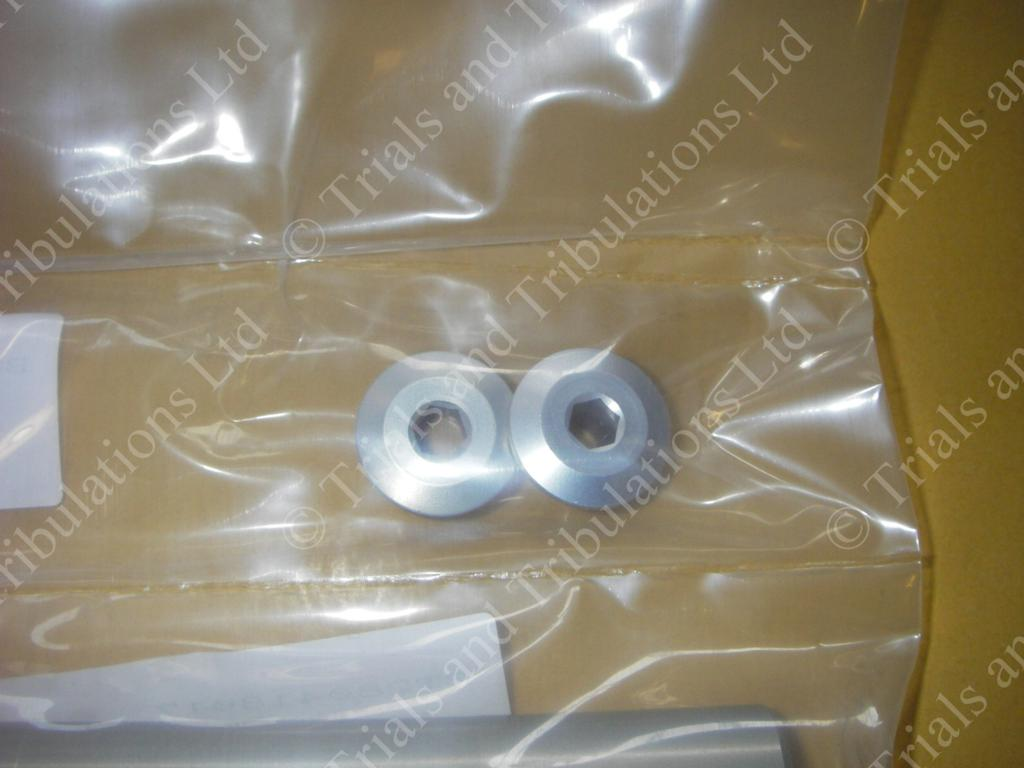 Gas Gas Pro front wheel spindle nut