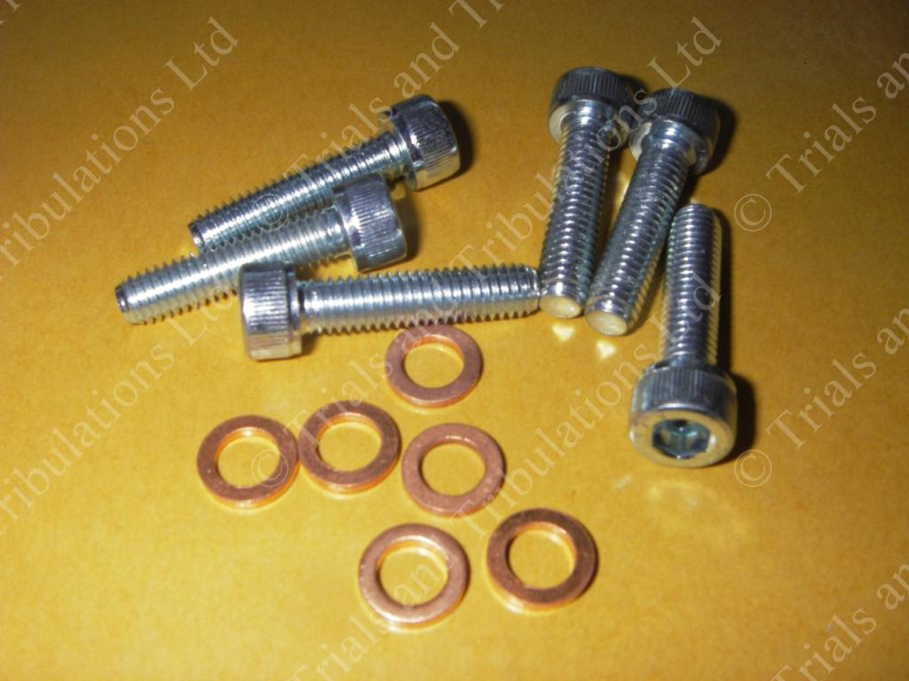 Gas Gas Pro cylinder head bolt & washer (priced each)