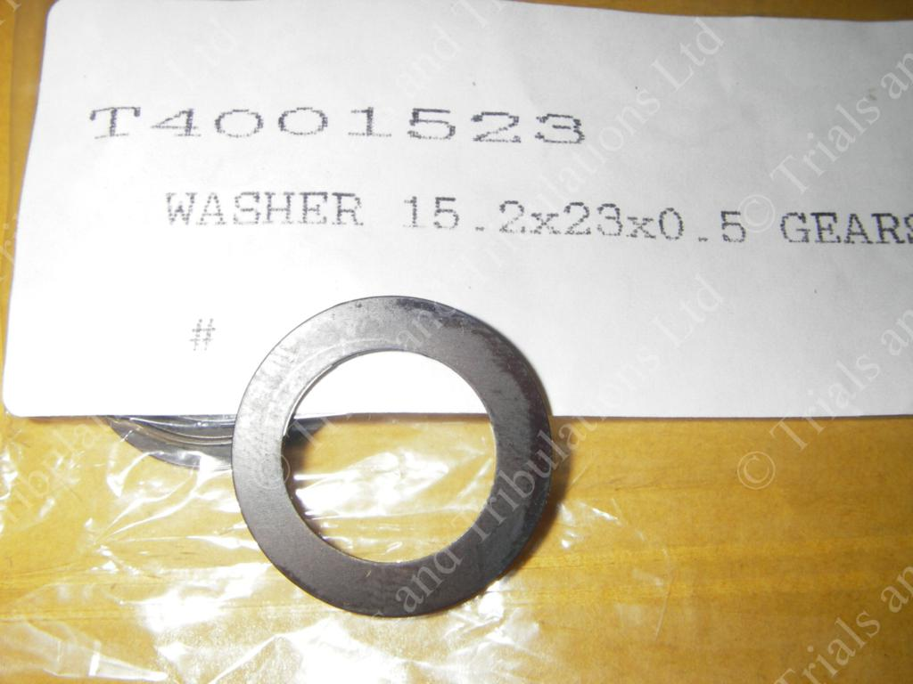 Gas Gas Pro '02-on gearbox shim (primary & secondary shaft)