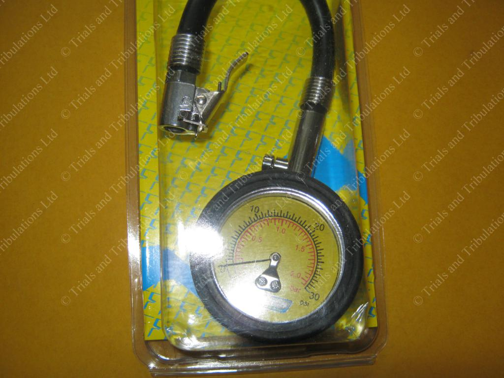 Apico High pressure gauge 0-30psi