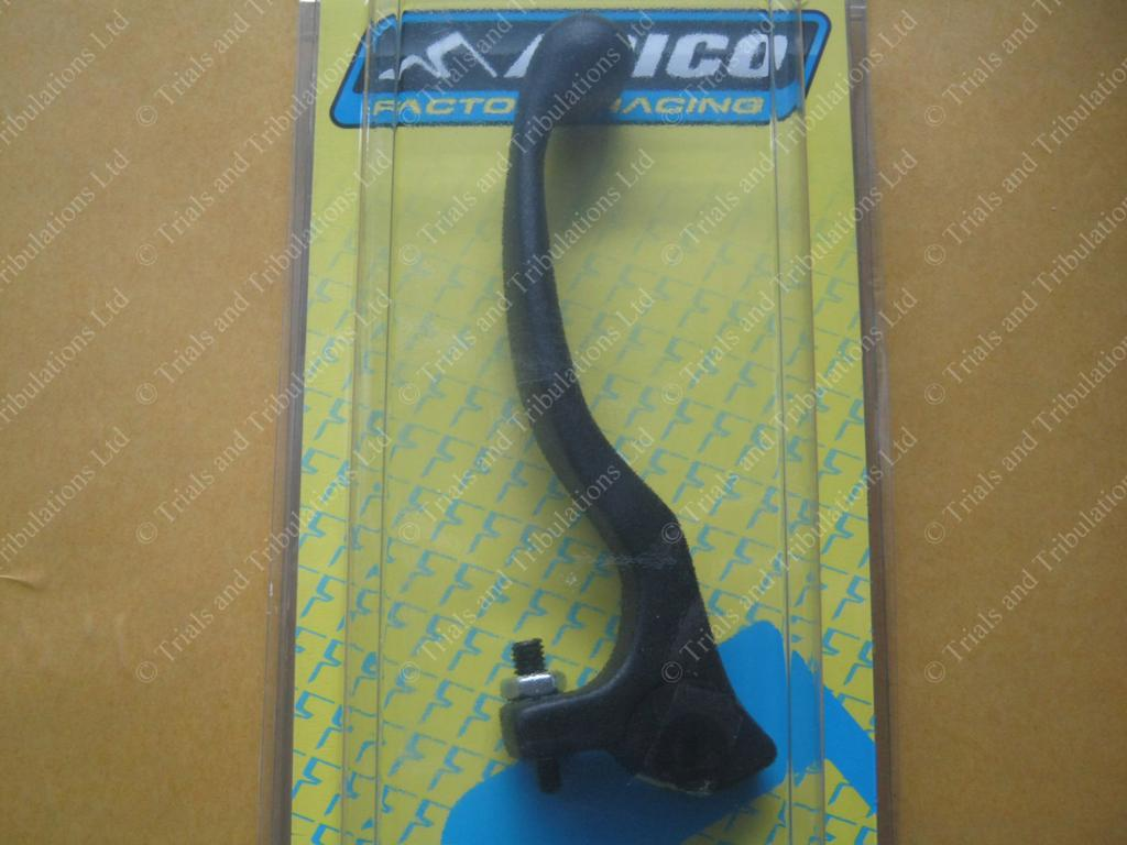 Apico Trials forged Clutch lever BLACK (short)