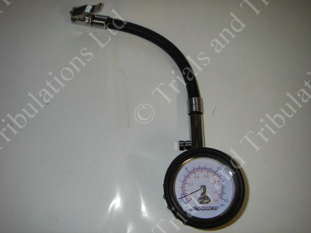 Apico Low pressure tyre gauge 0-15psi