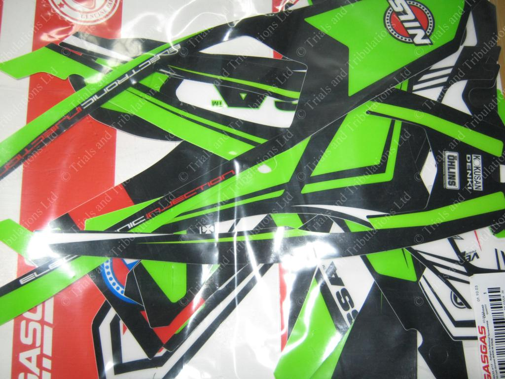 Ossa 2014 complete decal kit (all)