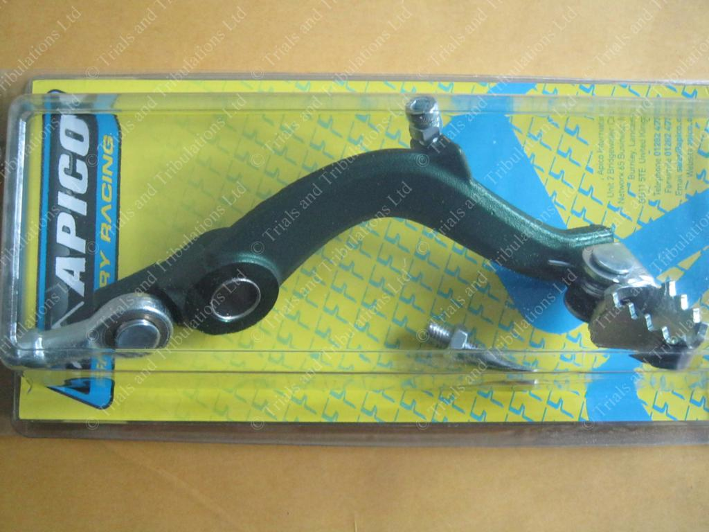 Apico Ossa rear brake pedal assembly Green