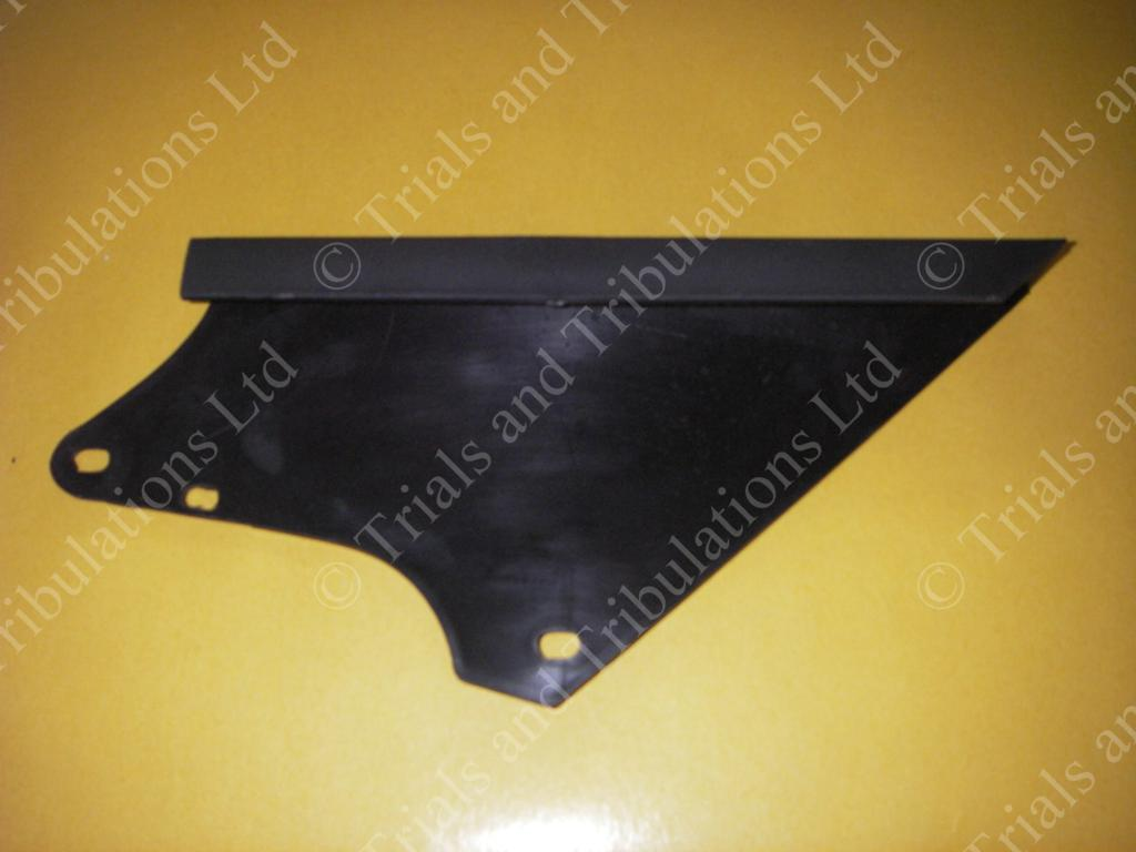Beta Rev 4T chain guard (top of swingarm)