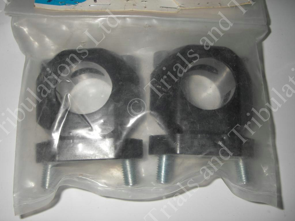 S3 adjustable Fat Bar clamps (black)