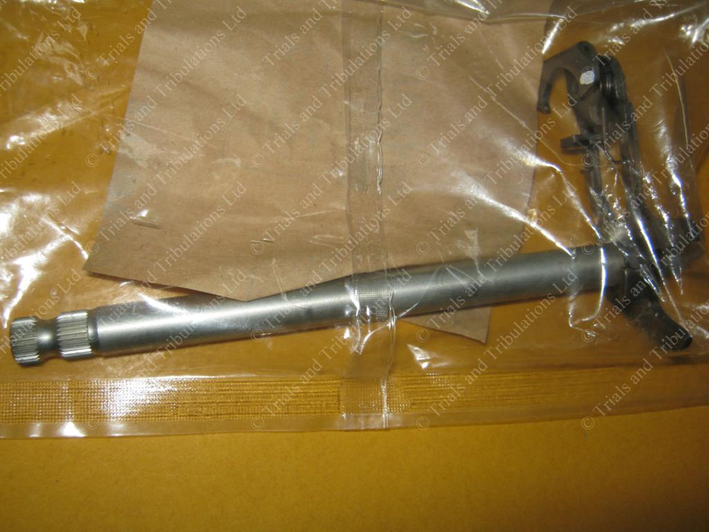 Scorpa SY 250 selector shaft assembly